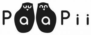 Paapii logo ja linkki verkkosivuille.