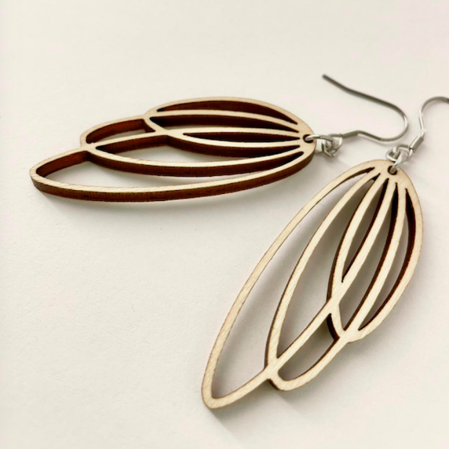 Cocoon Birch earrings-b45ee4f8