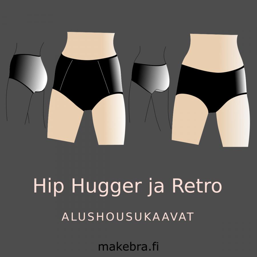 Hip Hugger ja Retro -alushousukaavat-347eb5b7