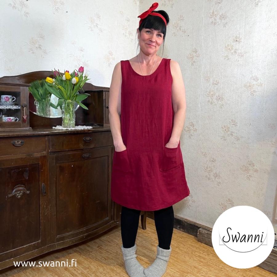 Kliivia_liivimekko_viininpunainen_sininen_vihreä_liila_kotimainen_swanni-5caa578d