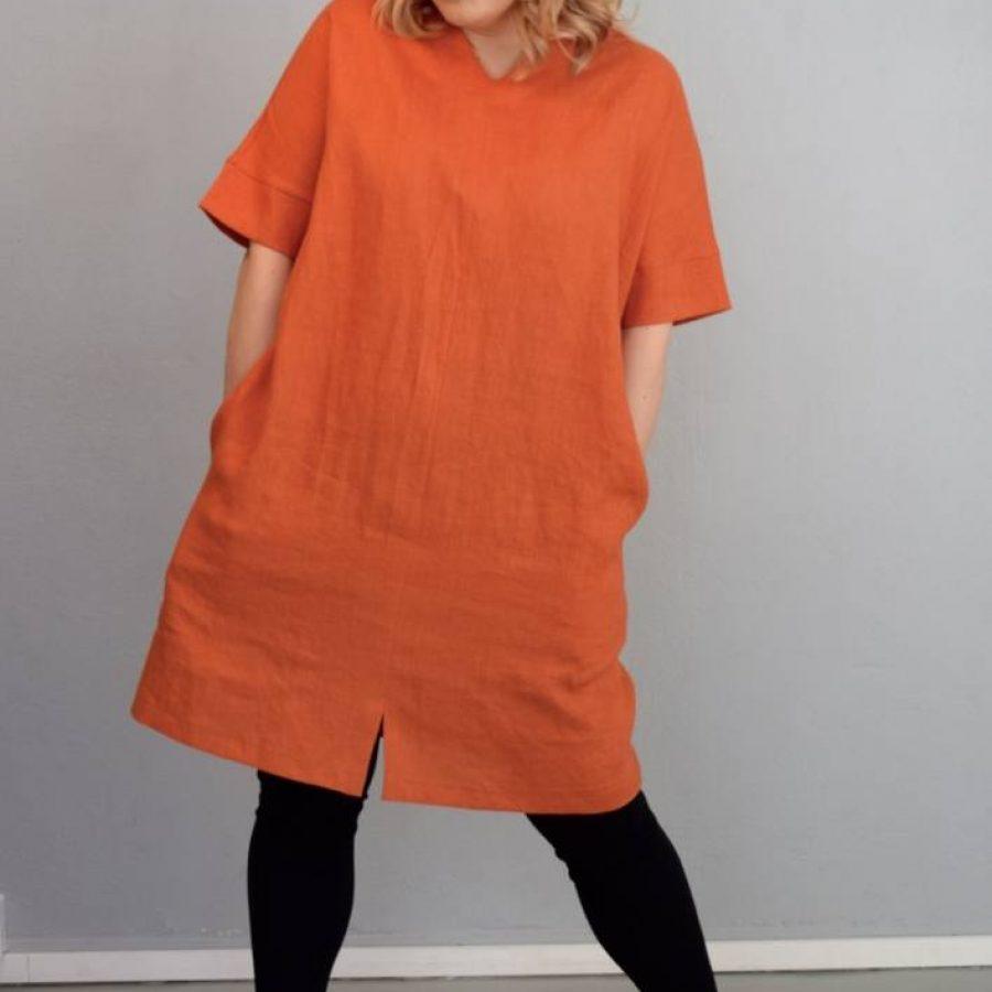 Linnea poltettu oranssi - 1-ecf0d23e