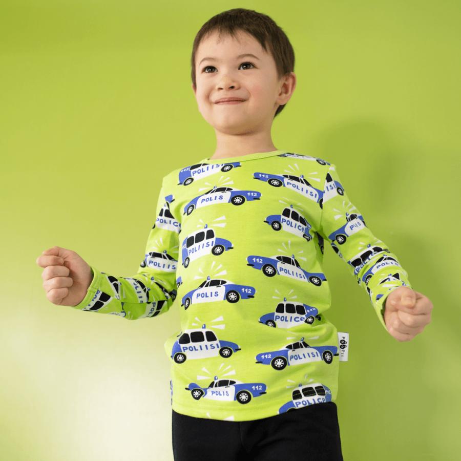 PaaPii Design Uljas paita Poliisi omena-sininen 1-ee7dc744