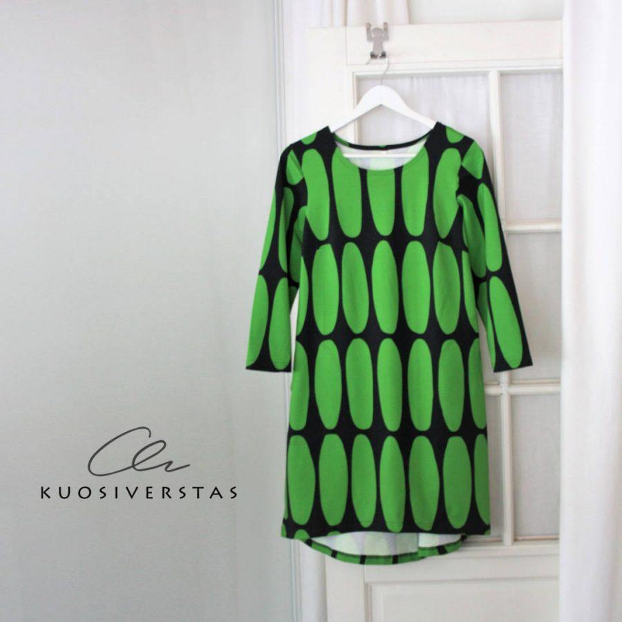 Tunika Jyvä vihreä + logo-42fa836a