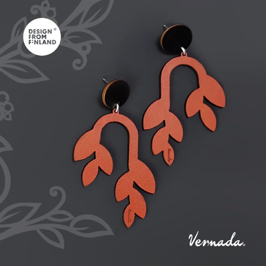 Vernada Design POHJA 2020 lehvä ruskea.-2d1f2c2d