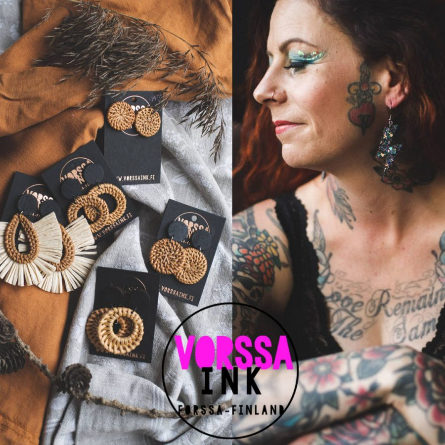 kata-puupponen-vorssa-ink-tattoo-tatuointi-forssa-tatuointiliike-tattoos_old-school-traditional-tattoo-art-tattoo-artist-vorssa_colorfull-earrings__korvikset_korvakorut_vorssa-ink-earrings