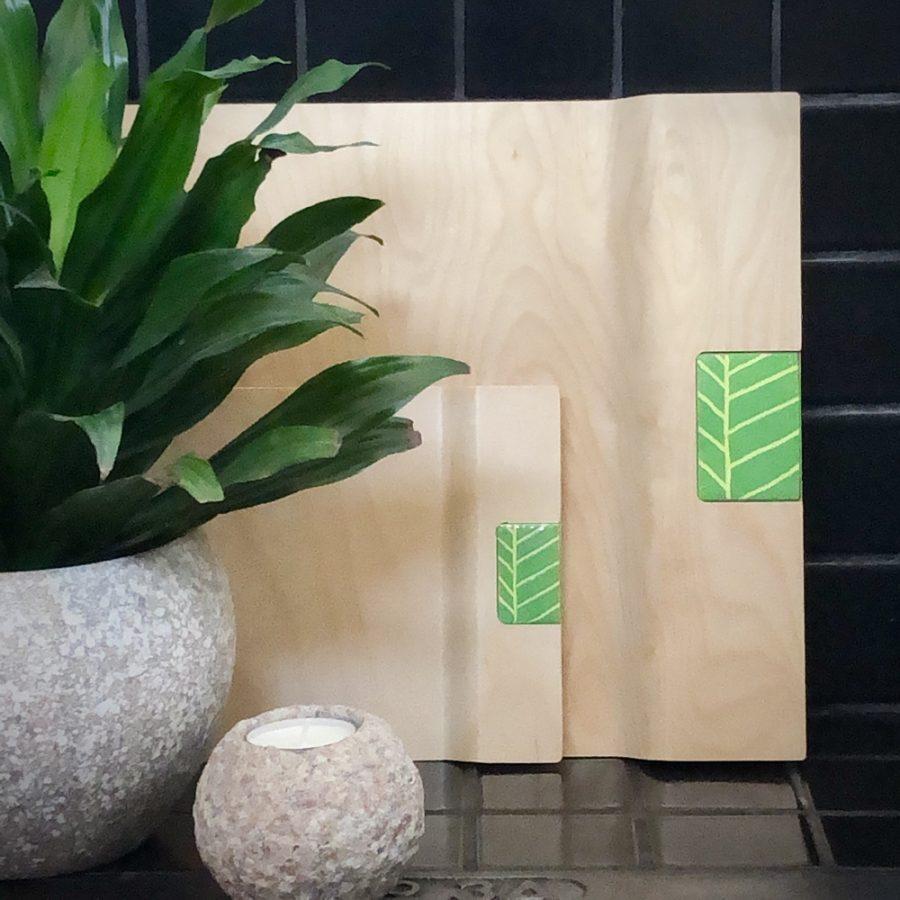 lehti-tarjottimet vihreä - Pauliina Rundgren HandiCrafts-ee4e9cd2