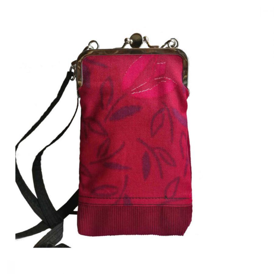 punainen-lila-kännykkälaukku-nipsukukkaro-rebella-eloqshop1-841223b0