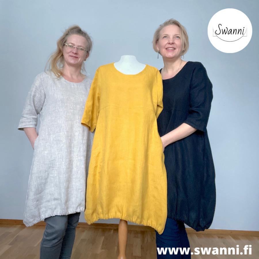 www.swanni.fi_meirami_pellava_tunika_taskullinen tunika_100% pellavaa_valmistettu suomessa käsityönä_kässämessut-80852b71